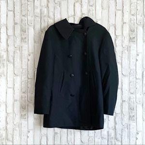 Mondi by Escada Vintage Button Up Pea Coat sz 38